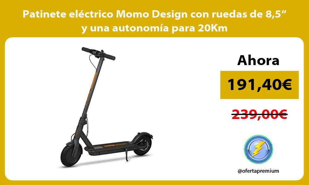 """Patinete eléctrico Momo Design con ruedas de 85"""" y una autonomía para 20Km"""
