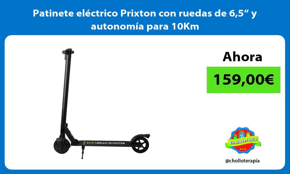 """Patinete eléctrico Prixton con ruedas de 65"""" y autonomía para 10Km"""