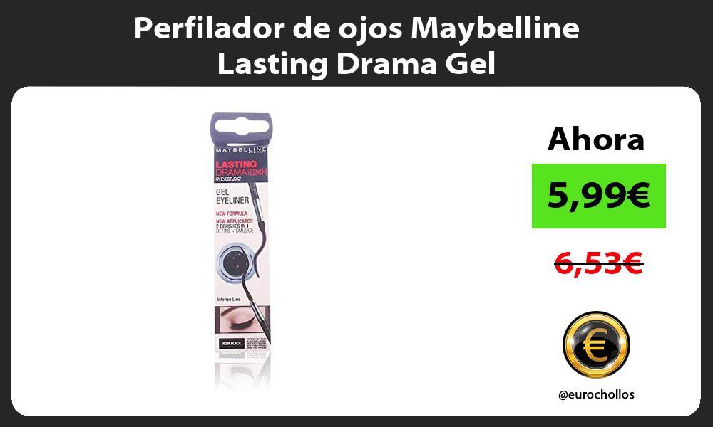 Perfilador de ojos Maybelline Lasting Drama Gel