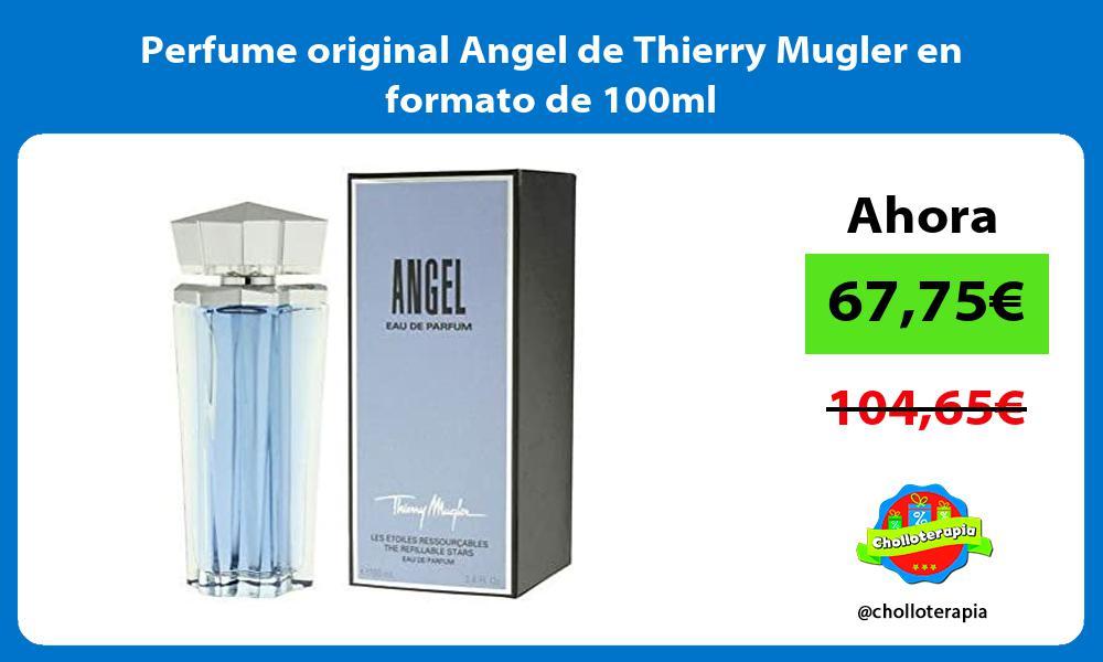 Perfume original Angel de Thierry Mugler en formato de 100ml
