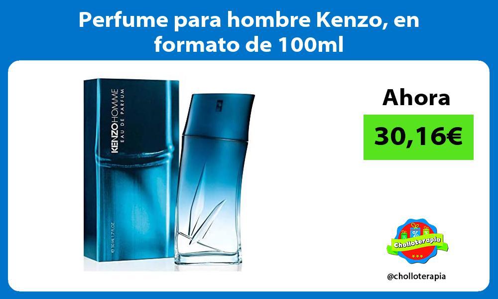 Perfume para hombre Kenzo en formato de 100ml