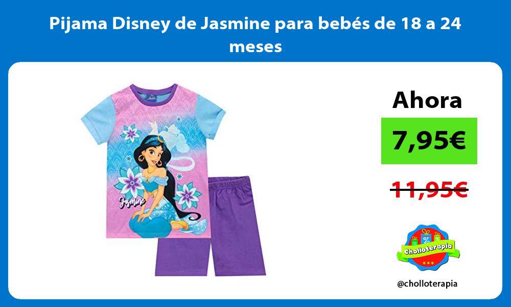 Pijama Disney de Jasmine para bebés de 18 a 24 meses