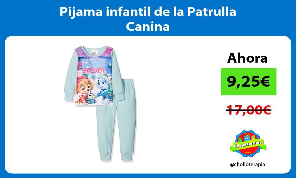 Pijama infantil de la Patrulla Canina