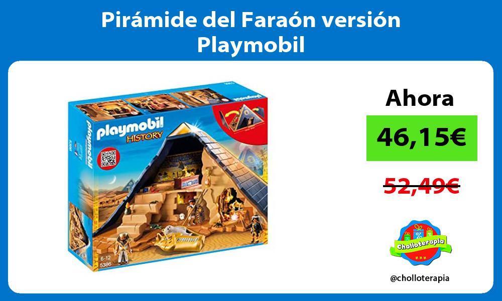 Pirámide del Faraón versión Playmobil