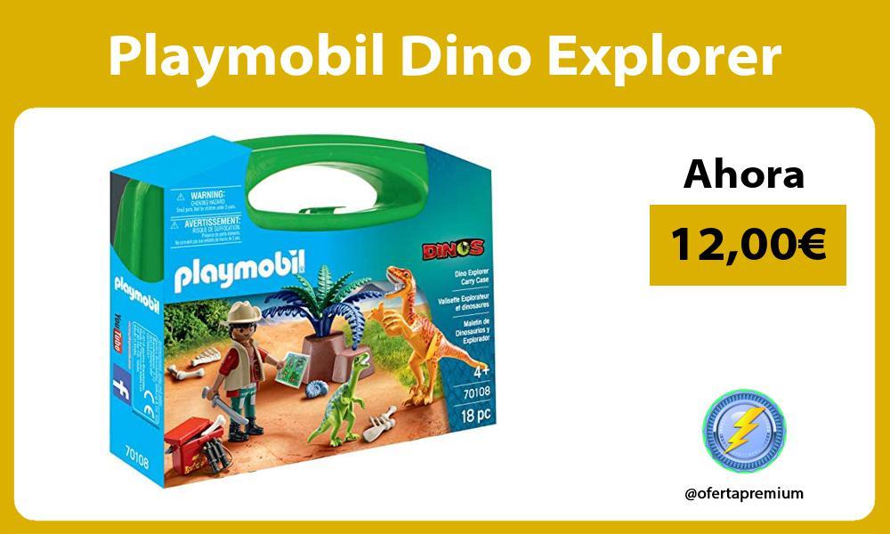 Playmobil Dino Explorer