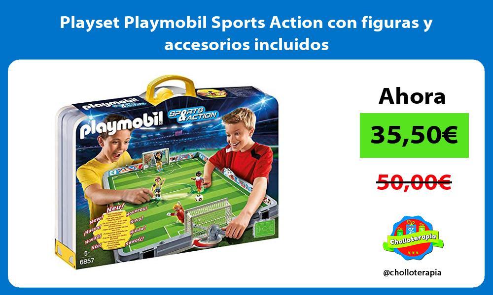 Playset Playmobil Sports Action con figuras y accesorios incluidos