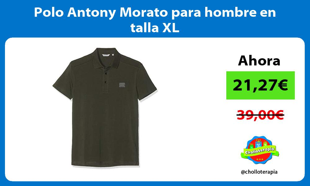 Polo Antony Morato para hombre en talla XL