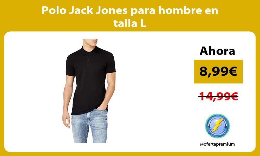 Polo Jack Jones para hombre en talla L
