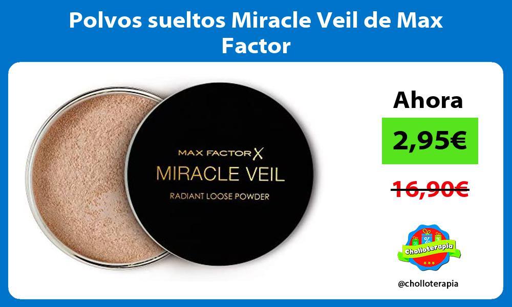 Polvos sueltos Miracle Veil de Max Factor