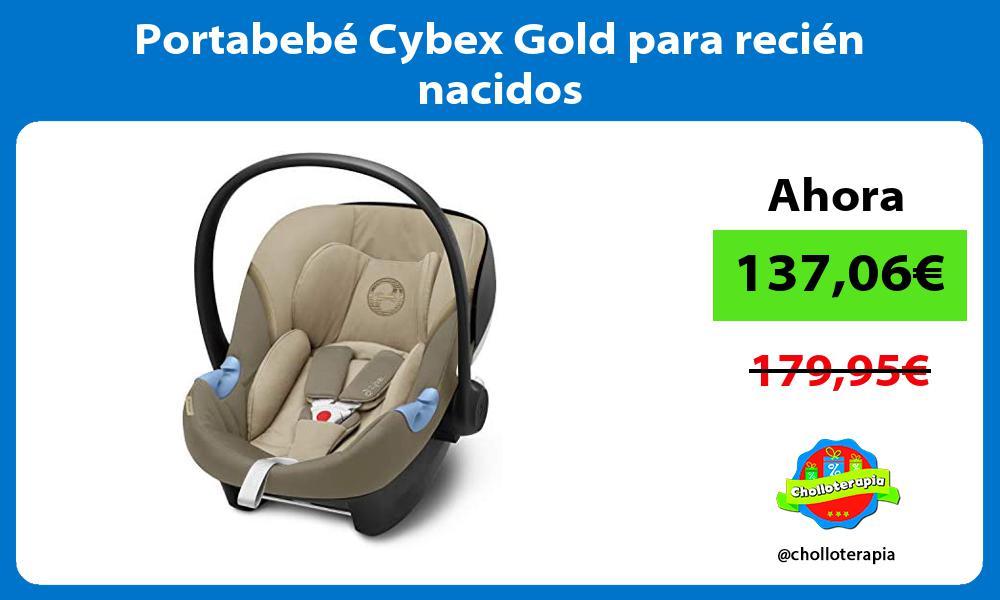 Portabebé Cybex Gold para recién nacidos