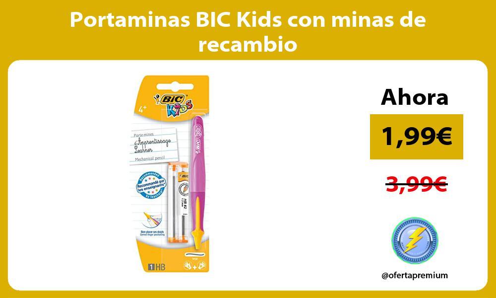 Portaminas BIC Kids con minas de recambio
