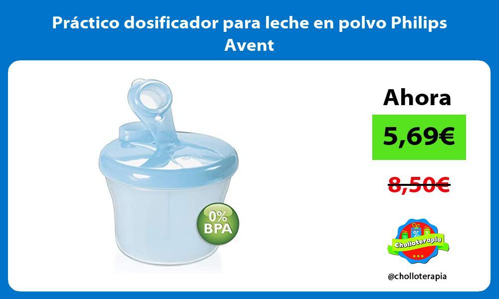 Práctico dosificador para leche en polvo Philips Avent