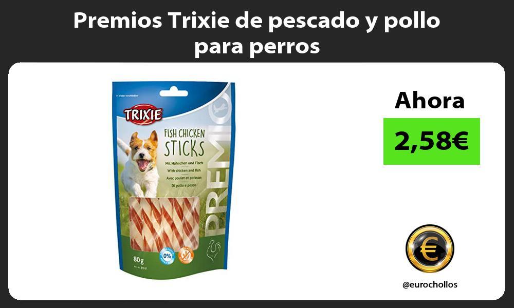 Premios Trixie de pescado y pollo para perros