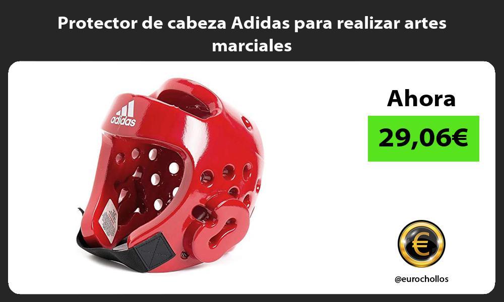 Protector de cabeza Adidas para realizar artes marciales