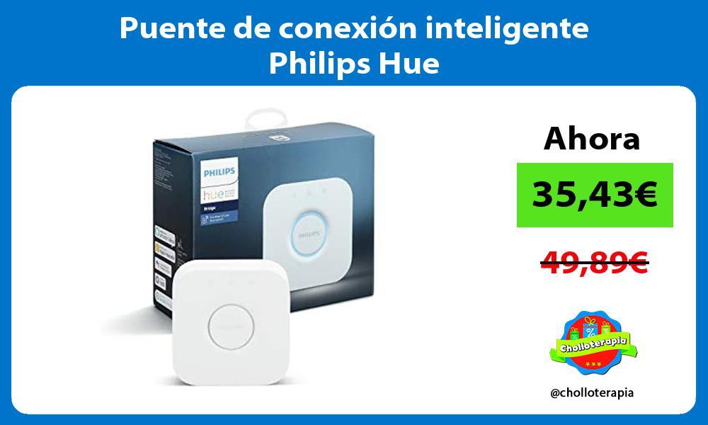 Puente de conexión inteligente Philips Hue