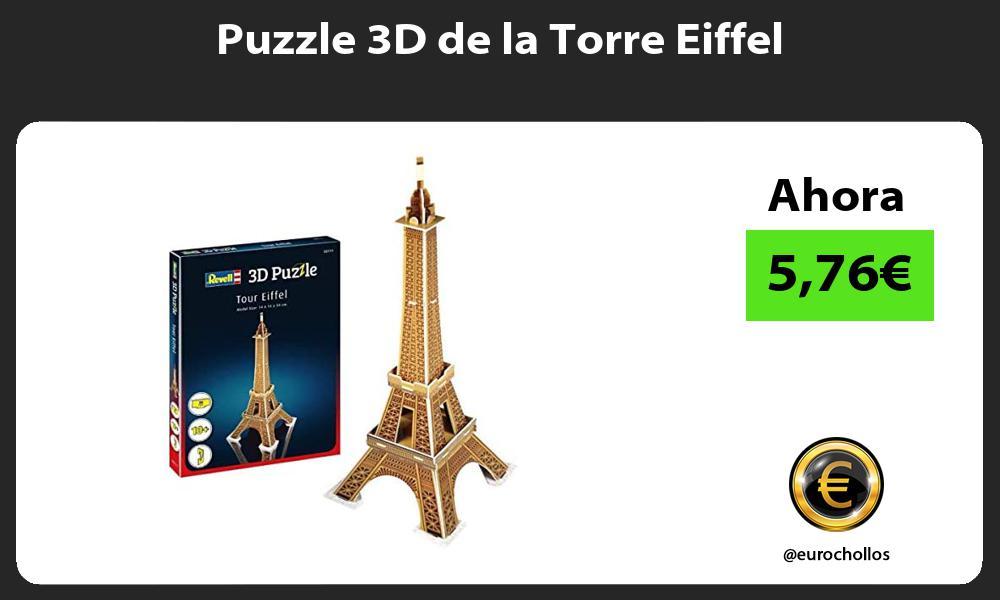 Puzzle 3D de la Torre Eiffel
