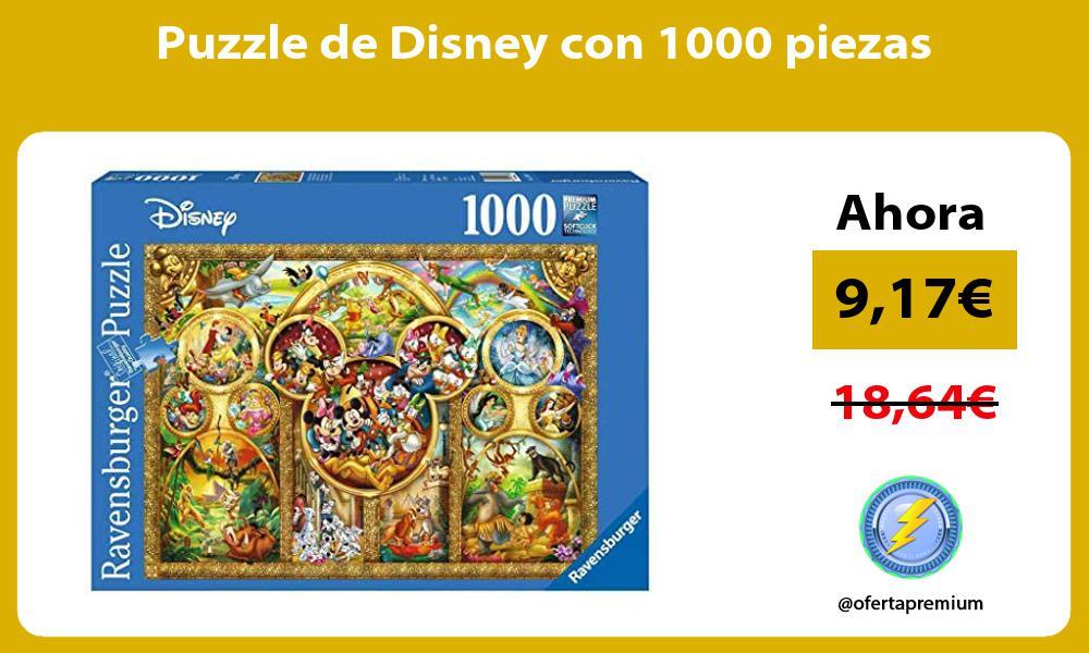 Puzzle de Disney con 1000 piezas