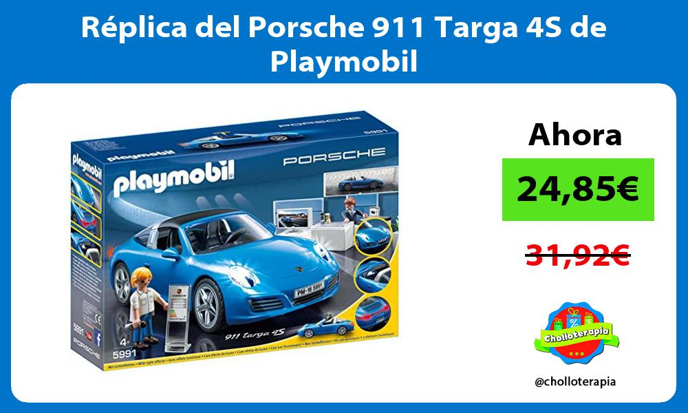 Réplica del Porsche 911 Targa 4S de Playmobil