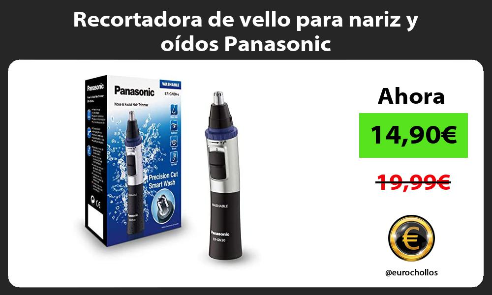 Recortadora de vello para nariz y oídos Panasonic