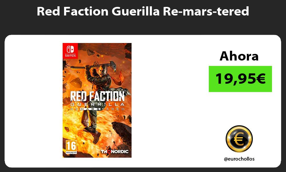 Red Faction Guerilla Re mars tered
