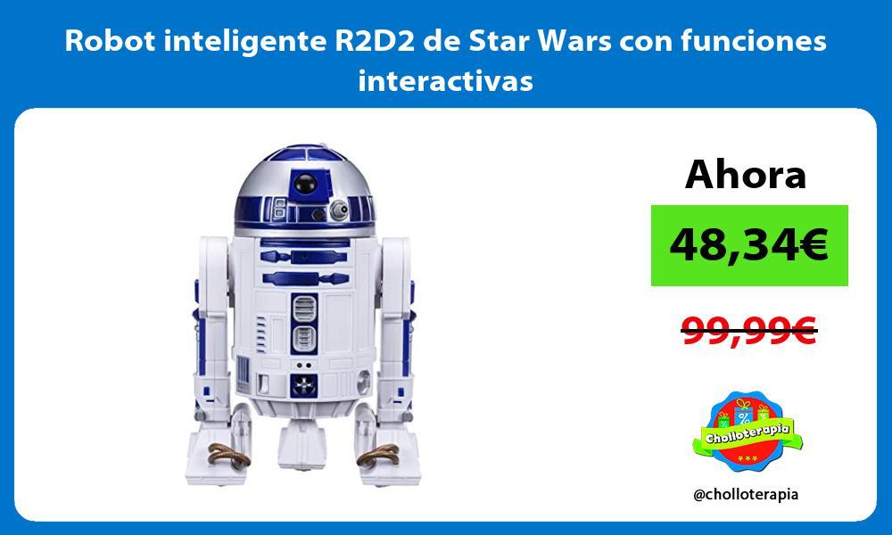 Robot inteligente R2D2 de Star Wars con funciones interactivas