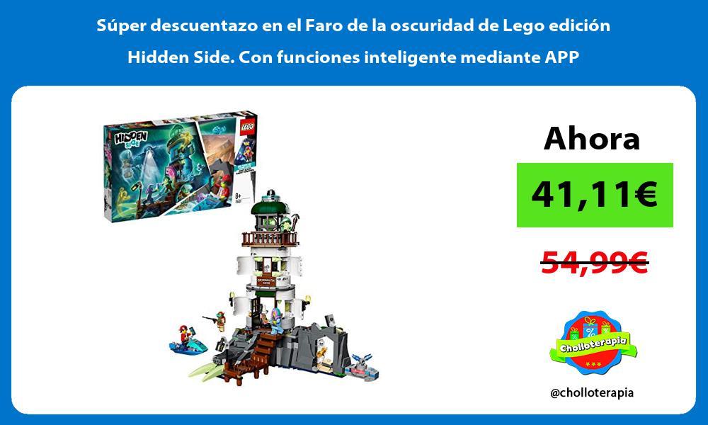 Súper descuentazo en el Faro de la oscuridad de Lego edición Hidden Side Con funciones inteligente mediante APP
