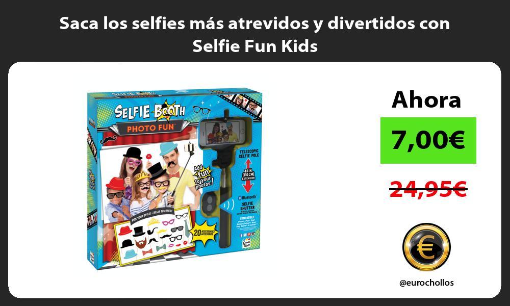 Saca los selfies más atrevidos y divertidos con Selfie Fun Kids