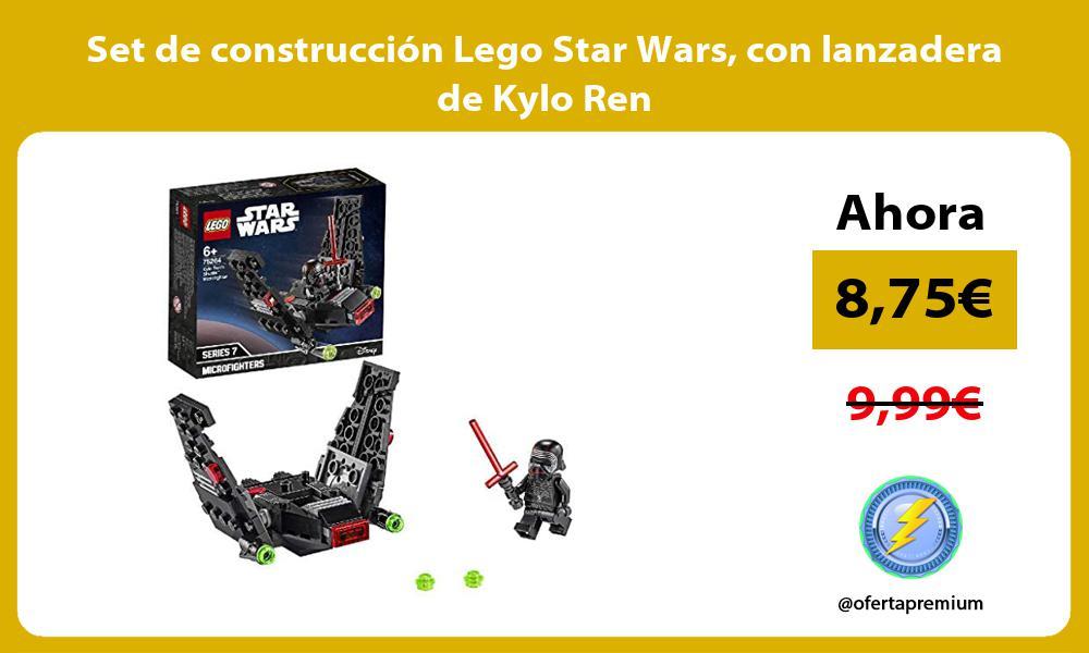 Set de construcción Lego Star Wars con lanzadera de Kylo Ren