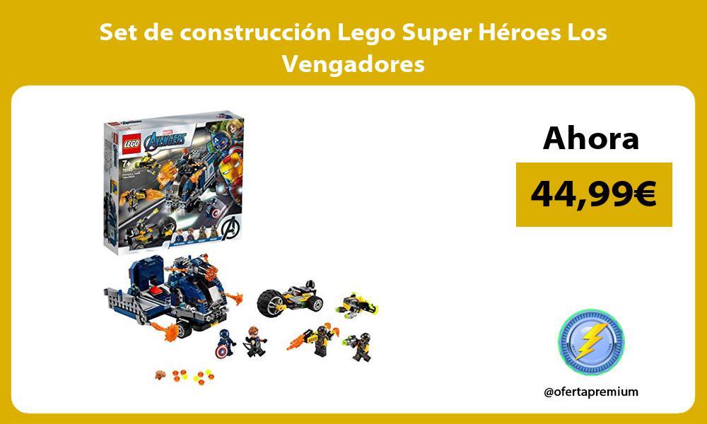 Set de construcción Lego Super Héroes Los Vengadores