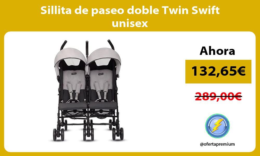 Sillita de paseo doble Twin Swift unisex