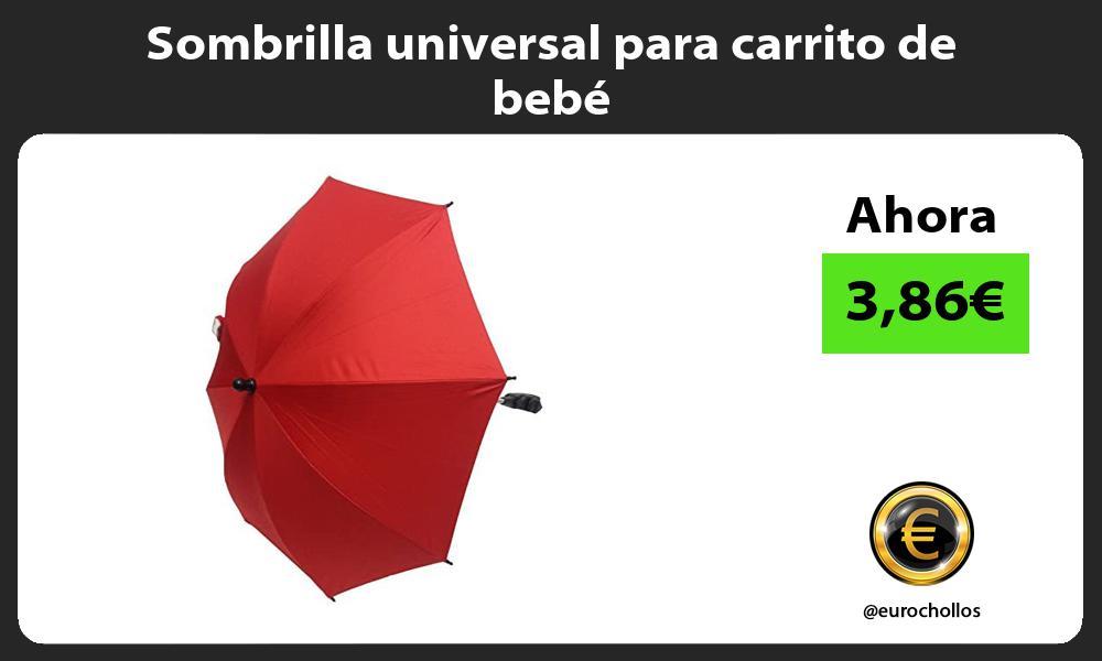Sombrilla universal para carrito de bebé