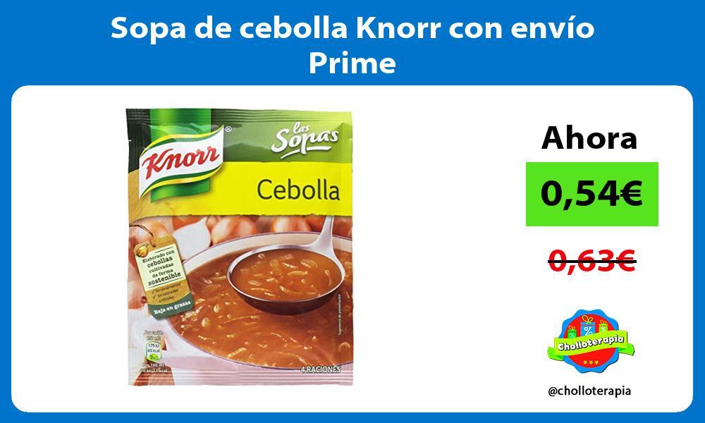 Sopa de cebolla Knorr con envío Prime