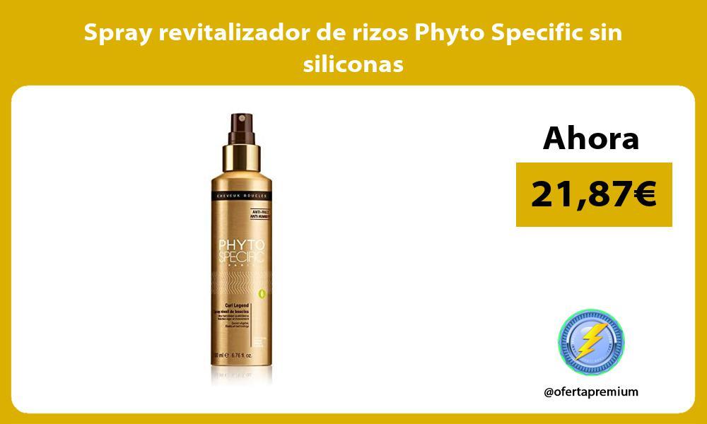 Spray revitalizador de rizos Phyto Specific sin siliconas