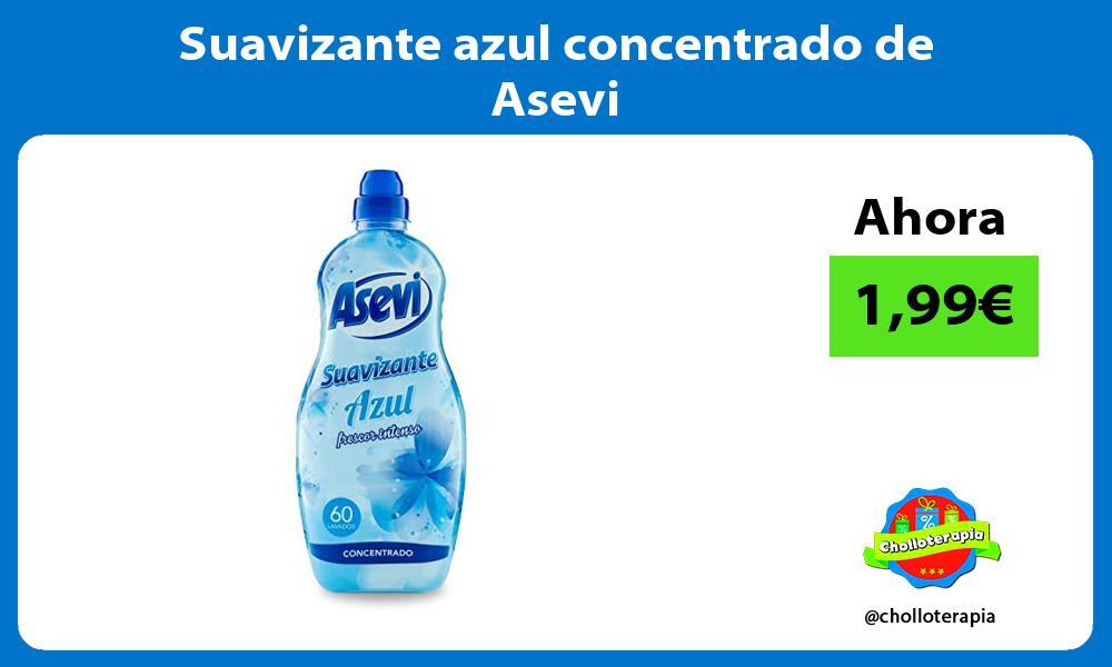 Suavizante azul concentrado de Asevi