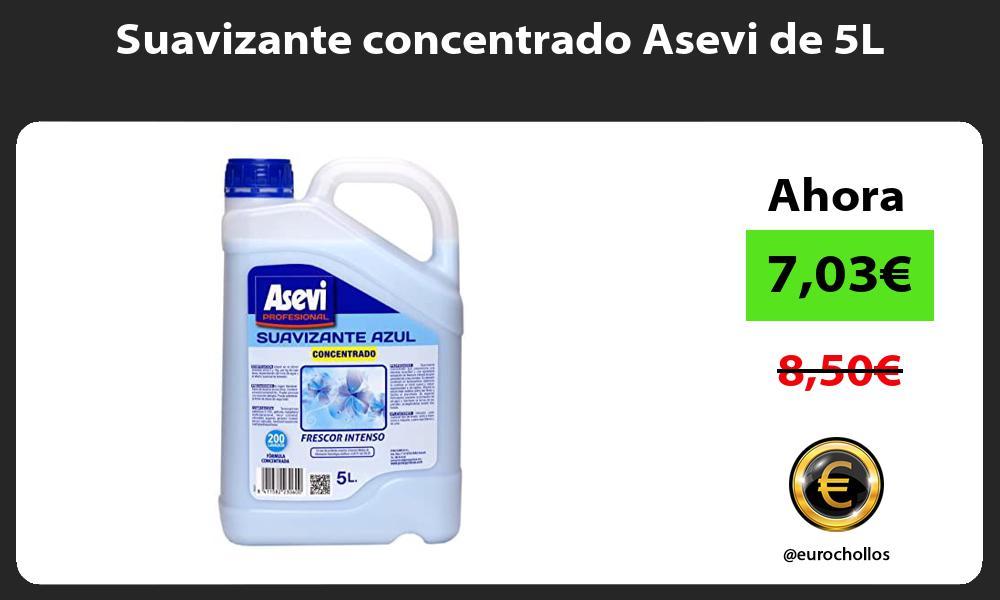 Suavizante concentrado Asevi de 5L