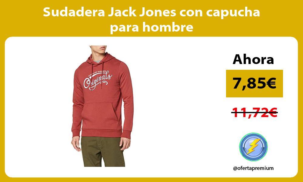 Sudadera Jack Jones con capucha para hombre