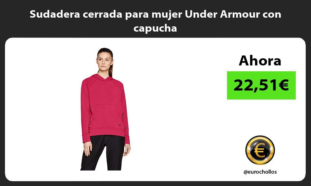 Sudadera cerrada para mujer Under Armour con capucha