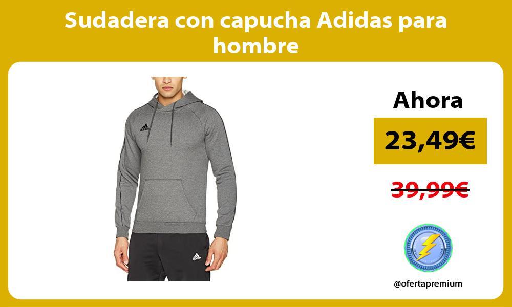 Sudadera con capucha Adidas para hombre