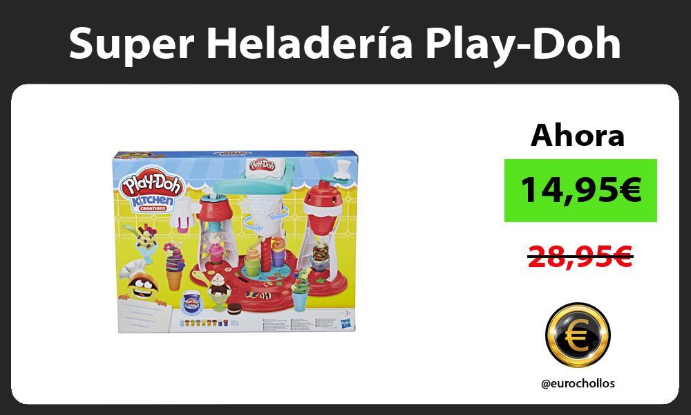 Super Heladería Play Doh