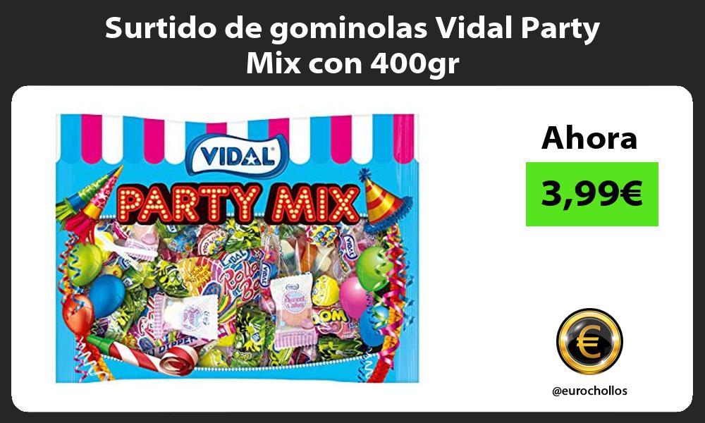 Surtido de gominolas Vidal Party Mix con 400gr