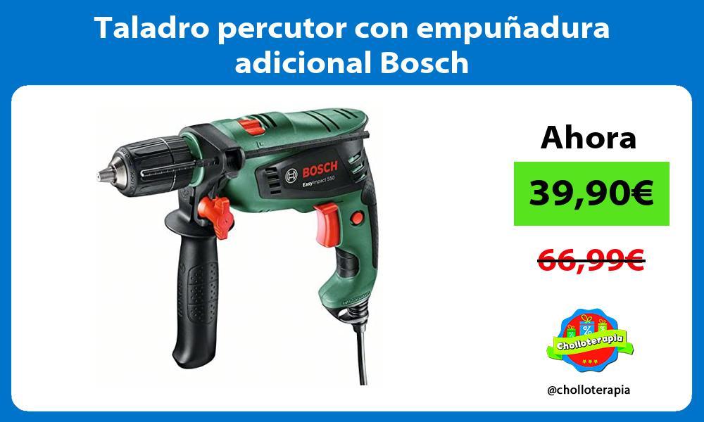 Taladro percutor con empuñadura adicional Bosch