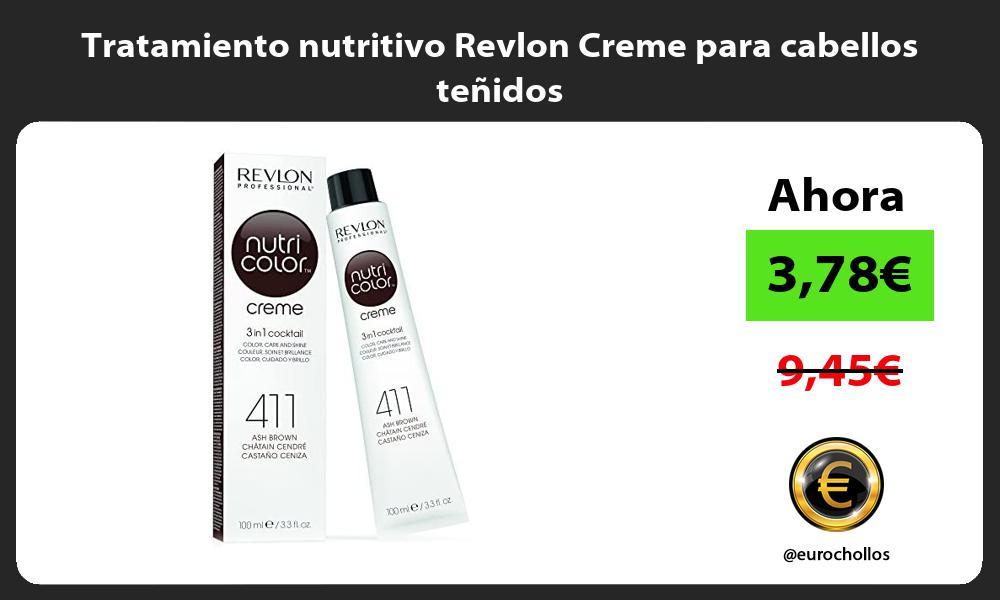 Tratamiento nutritivo Revlon Creme para cabellos teñidos