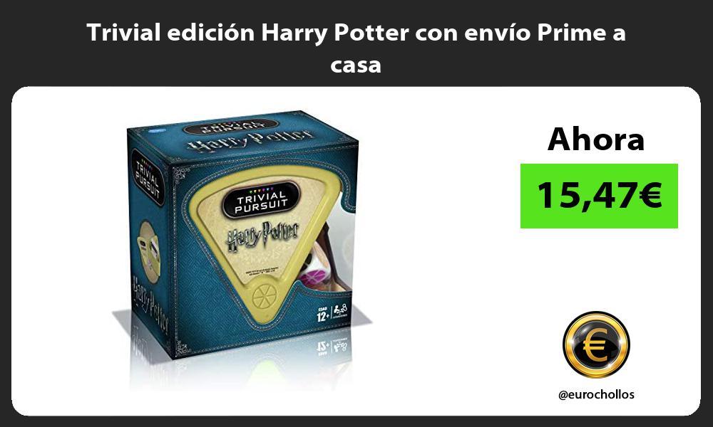 Trivial edición Harry Potter con envío Prime a casa