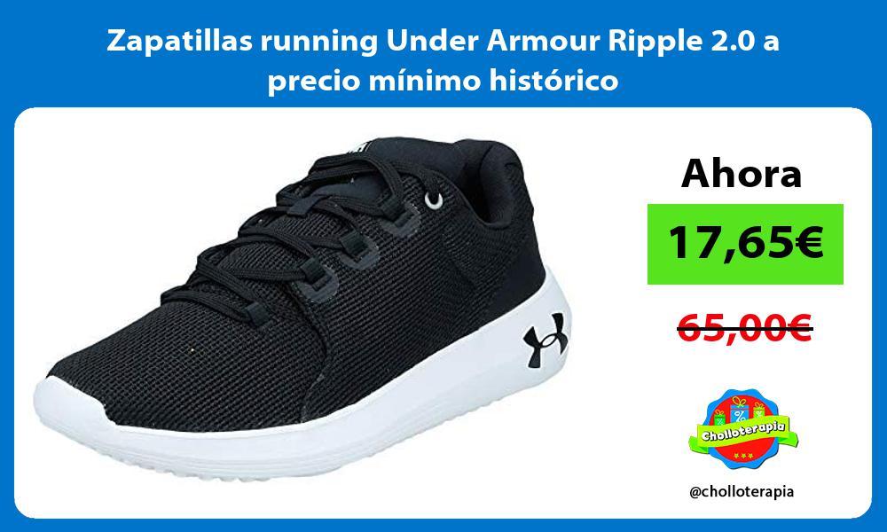 Zapatillas running Under Armour Ripple 2 0 a precio mínimo histórico