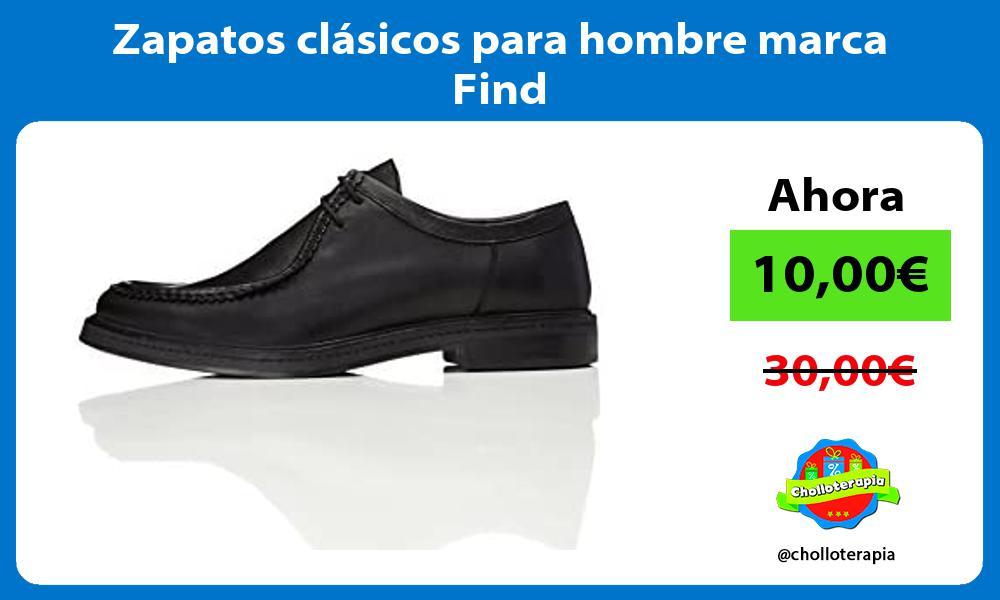 Zapatos clásicos para hombre marca Find
