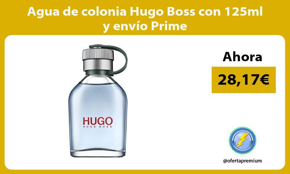 Agua de colonia Hugo Boss con 125ml y envío Prime