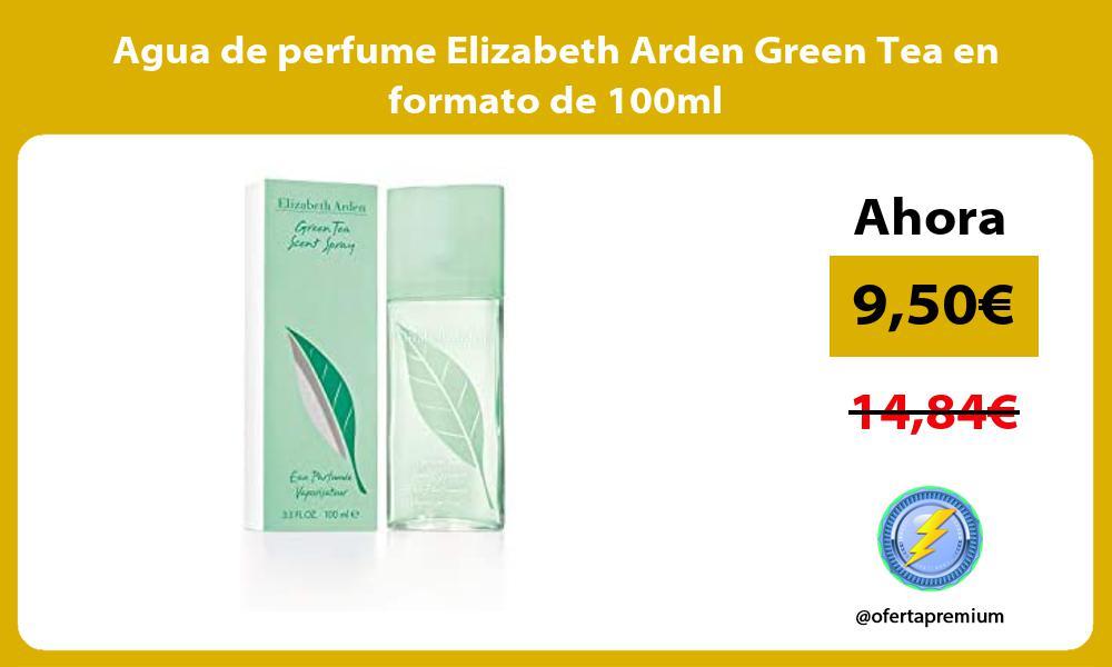 Agua de perfume Elizabeth Arden Green Tea en formato de 100ml