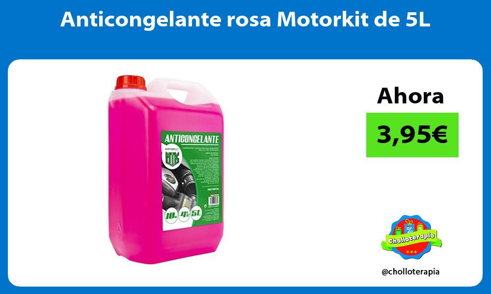 Anticongelante rosa Motorkit de 5L