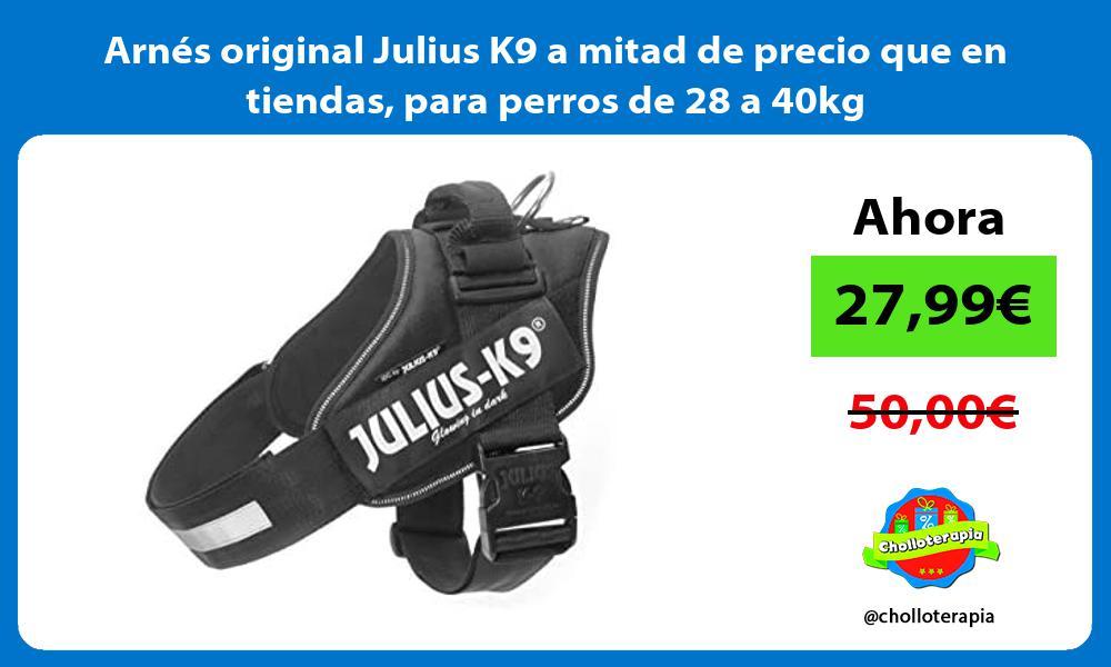 Arnés original Julius K9 a mitad de precio que en tiendas para perros de 28 a 40kg
