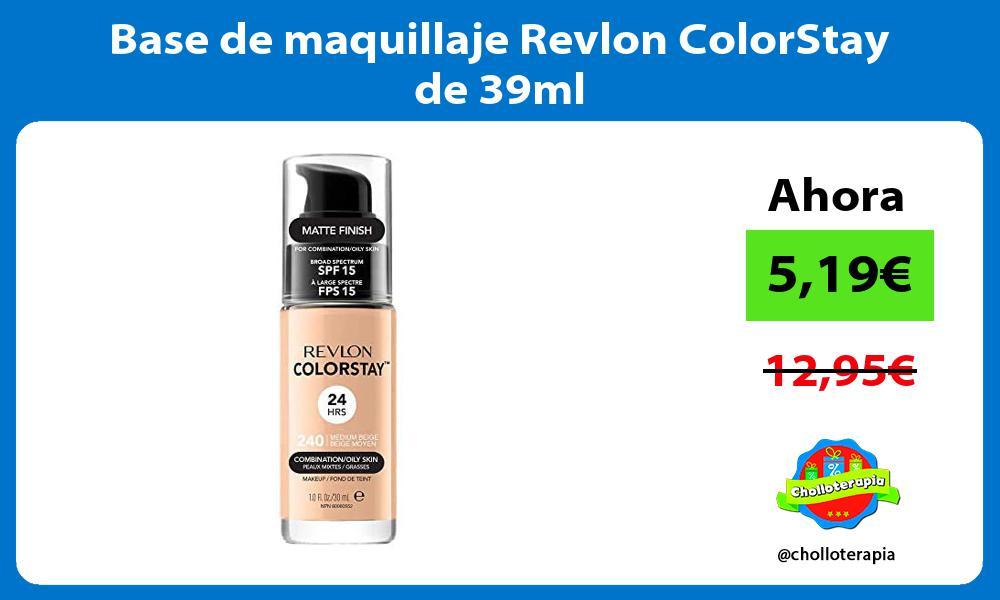 Base de maquillaje Revlon ColorStay de 39ml